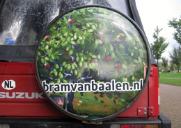 Full color sticker drumvel
