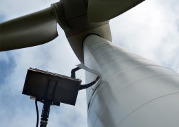 Belettering windmolen HVC