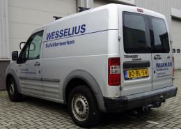 Belettering bestelwagen Wesselius