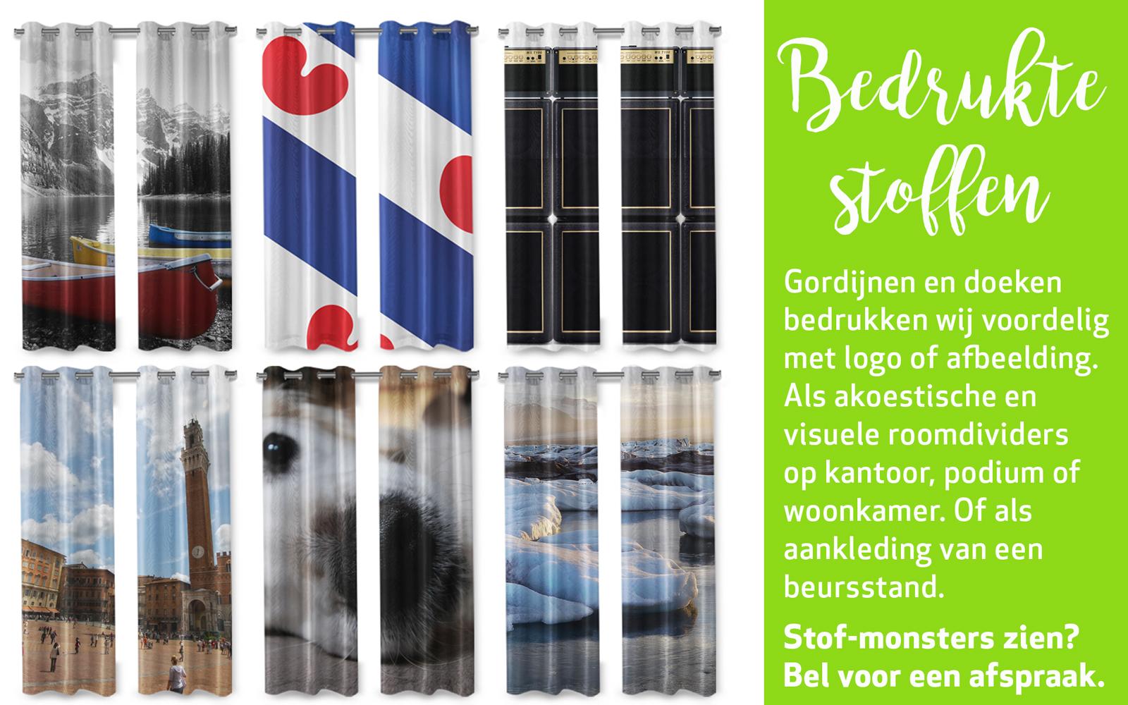 Gordijnen Als Roomdivider : Collage gordijnen havelaar reclame