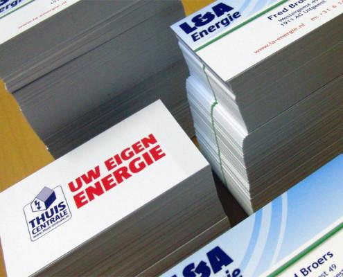 Visitekaartjes L&A Energy