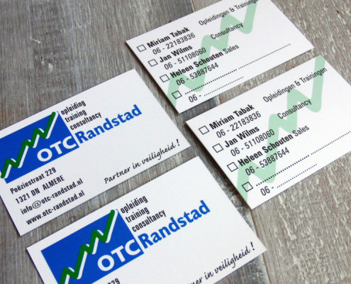 Visitekaartjes OTC Randstad