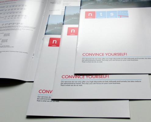 Brochures drukwerk NTS