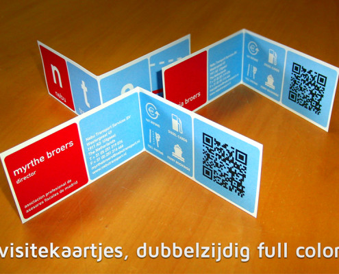 Visitekaartjes Nebu Transport