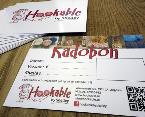 Kadobonnen Hookable by Shelley
