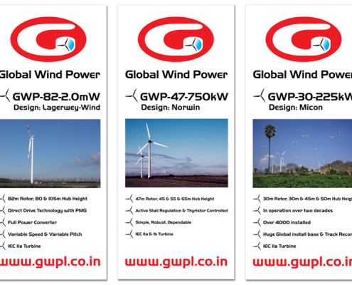 Rolbanners Global Wind Power