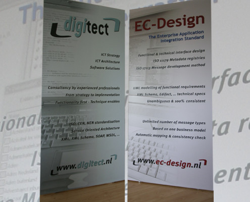 Rolbanners Digitect