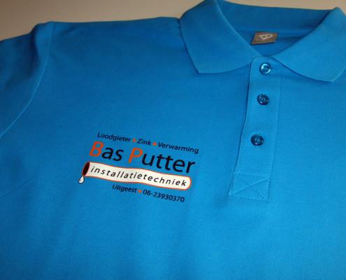 Poloshirt bedrukt met naamlogo