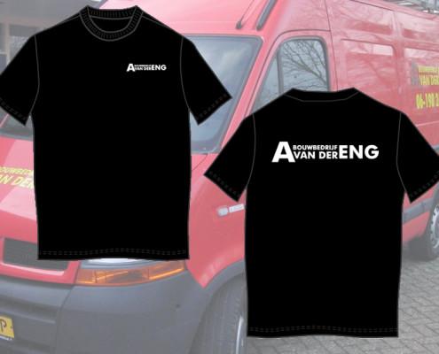 T-shirts Bouwbedrijf v.d. Eng