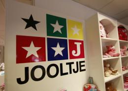 Belettering instore Jooltje