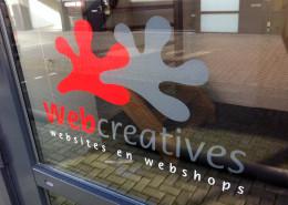 Belettering ramen Webcreatives