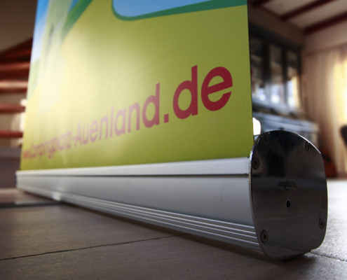 Roll-up banner Auenland