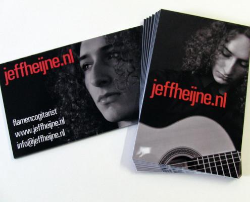 Visitekaartjes Jeff Heijne