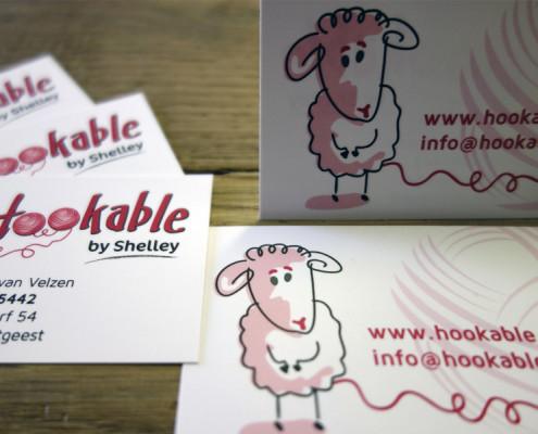 Visitekaartjes Hookable by Shelley
