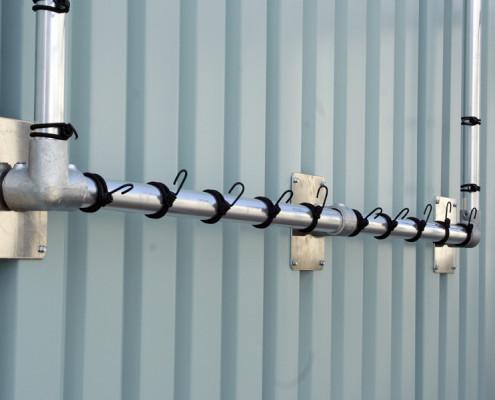 Aluminium frames en koppelingen