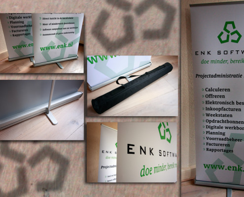 Rollbanners ENK software