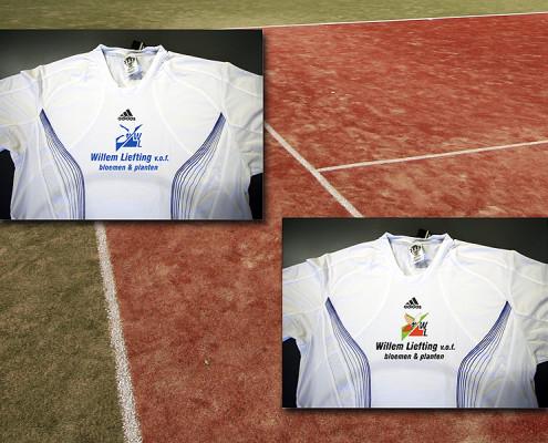 Bedrukte tennisshirts Liefting