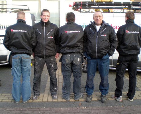 Textiel personeel Nieuwenhuizen Bouwbedrijf