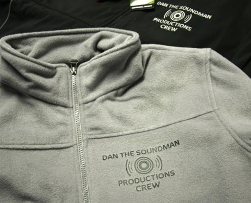 Bedrukte sweaters Dan the Soundman