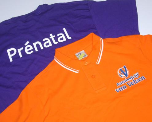 Bedrukte t-shirts in vele kleuren